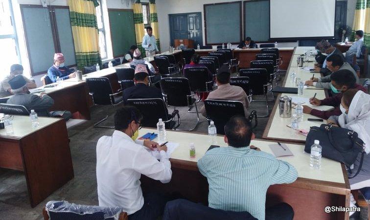 गण्डकी प्रदेश विकास समितिद्वारा आर्थिक मामिला मन्त्रालयसँग छलफल