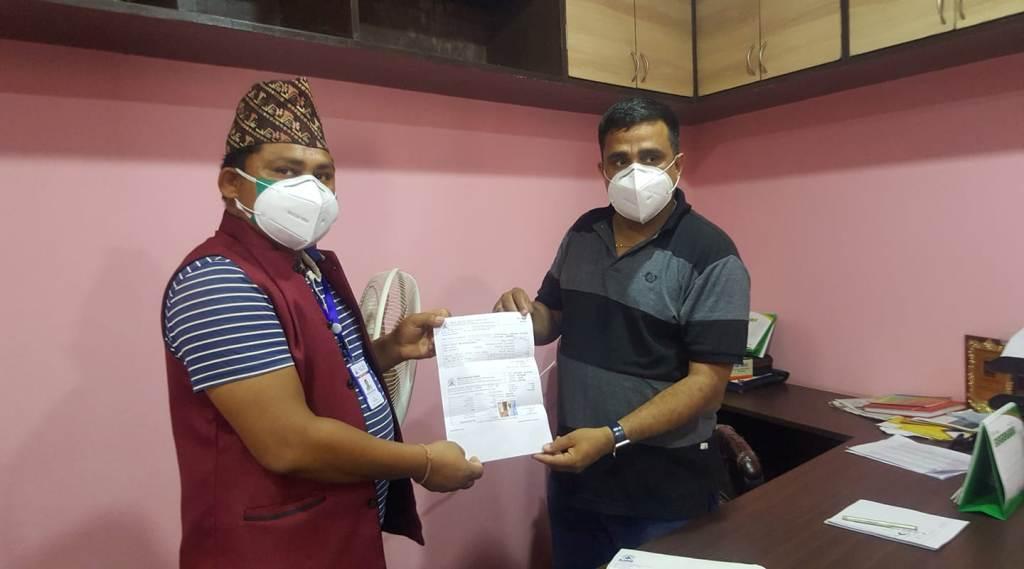 मोरङका २ सय बढी पत्रकारको कोरोना बिमा