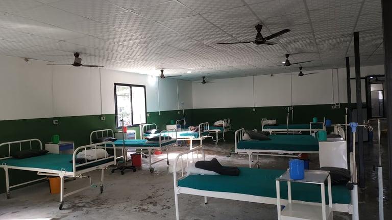 धनगढीकाे ५० शय्याको कोरोना अस्पताल सेतीलाई हस्तान्तरण