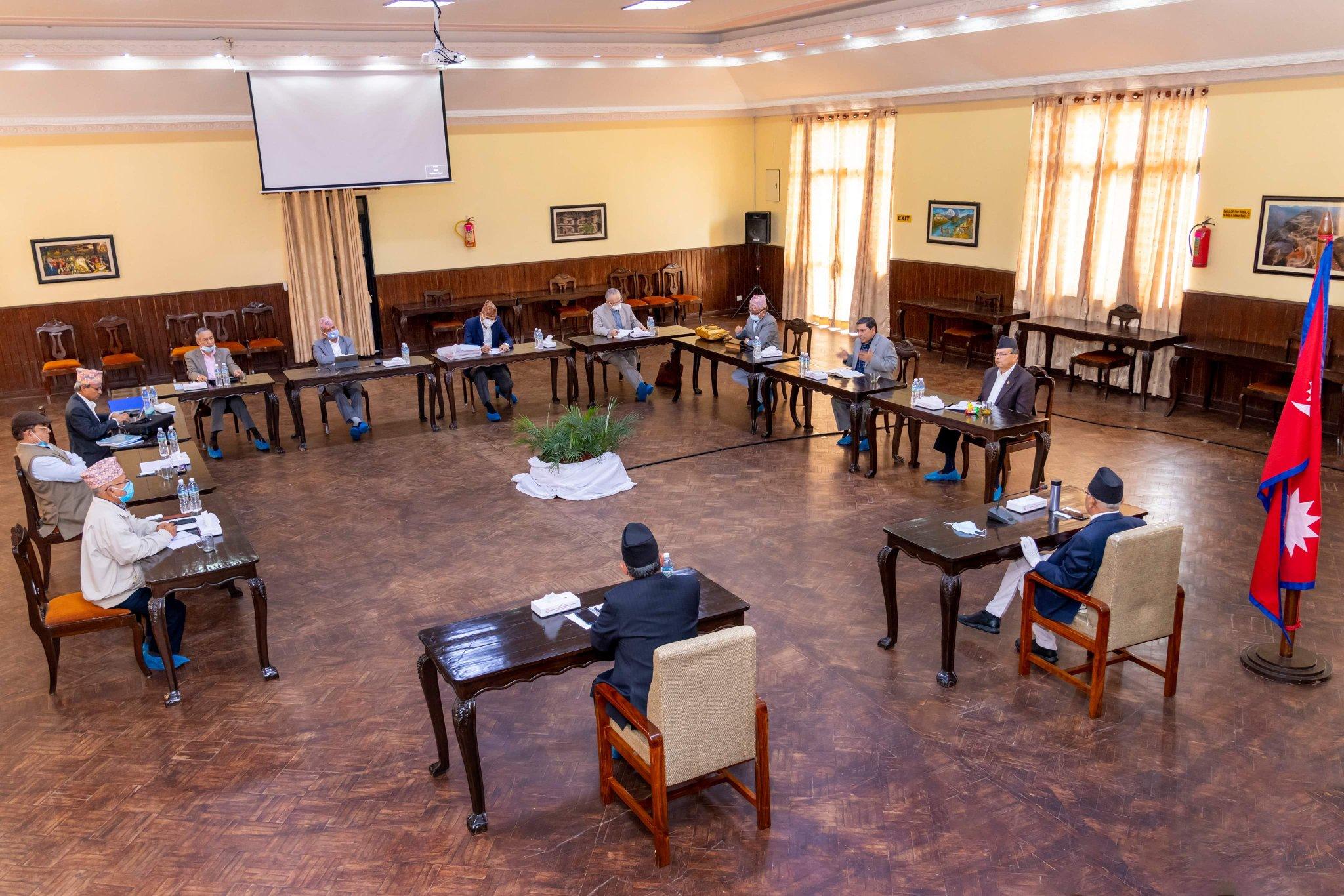 एमसीसी संसदबाट पारित नहुँदासम्म एमसीए नेपालका काम रोक्ने नेकपाको निर्णय