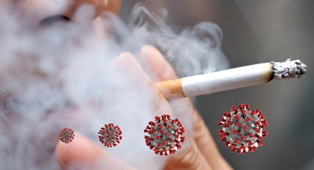 धूमपान कोरोनाका लागि खतरा