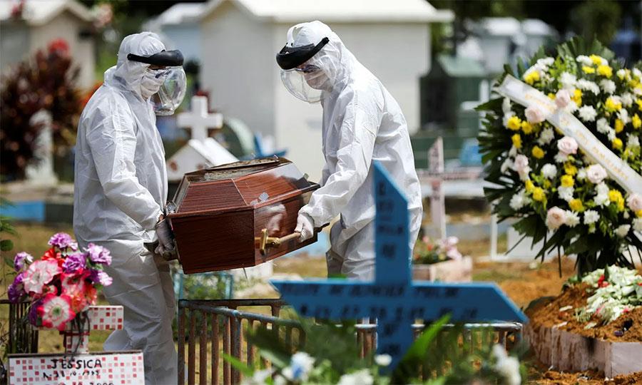 ब्राजिलमा कोरोना भाइरसबाट ७२ हजारको मृत्यु