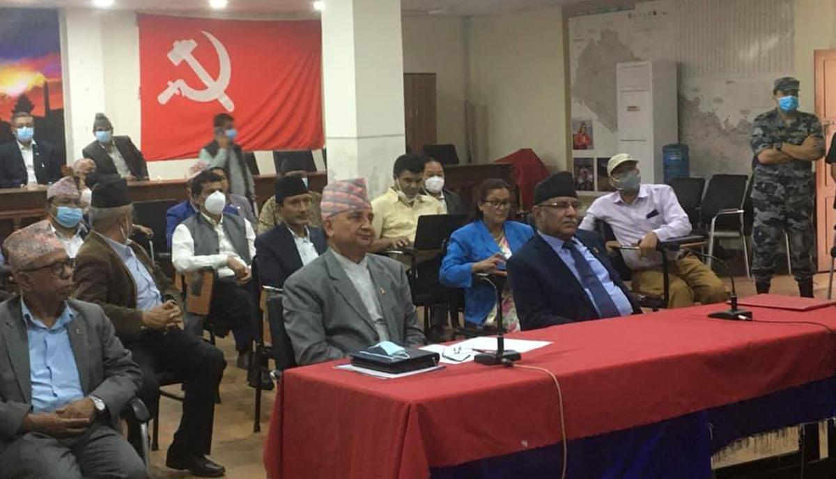 नेपाल कुनै सैन्य गठबन्धनमा सहभागी हुँदैन : प्रचण्ड