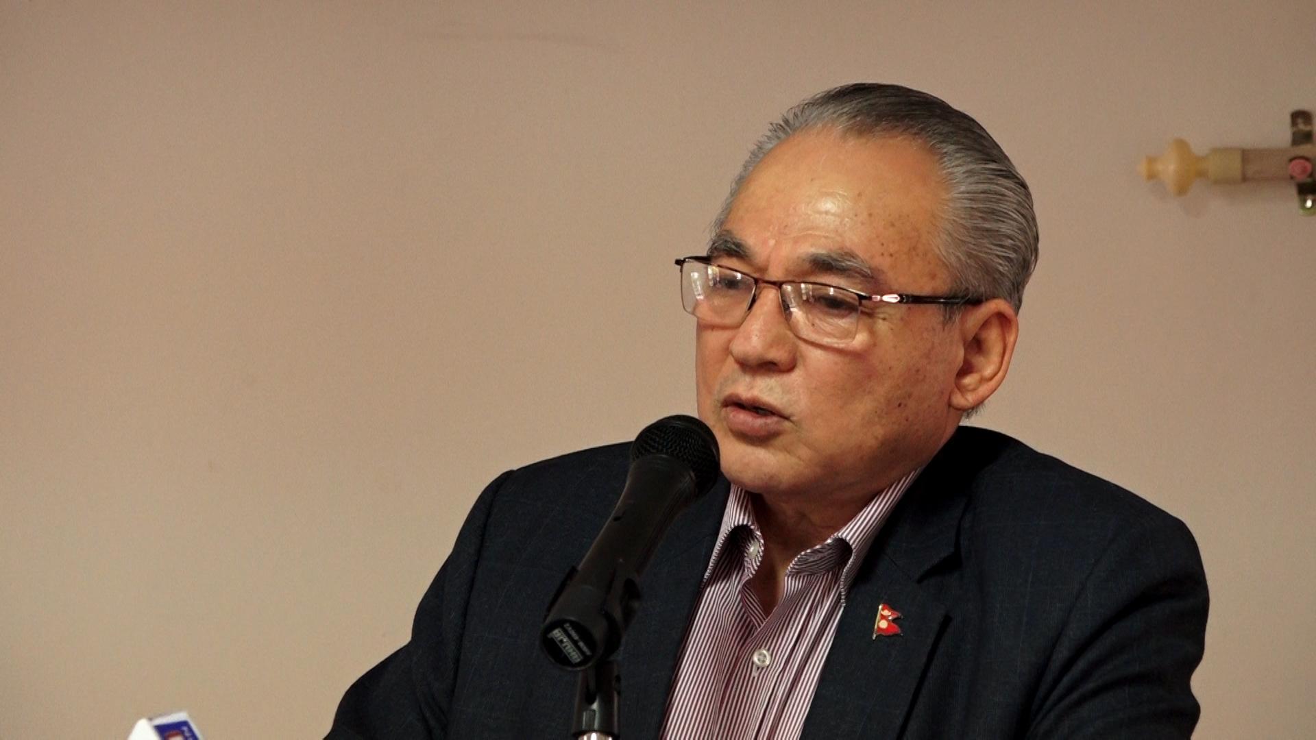 विपद् व्यवस्थापनमा नयाँ रणनीति अपनाउन गृहमन्त्री थापाको निर्देशन