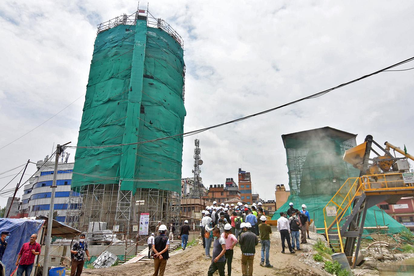 काठमाडाैंका सम्पदास्थलमा सांसद
