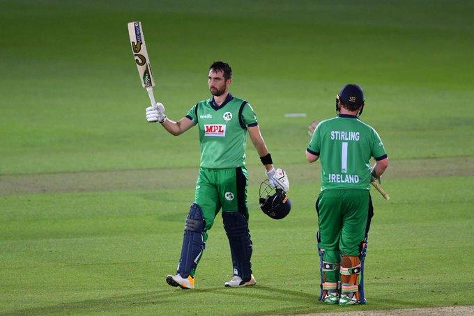 इंग्ल्याण्डविरुद्ध आयरल्याण्ड ७ विकेटले विजयी