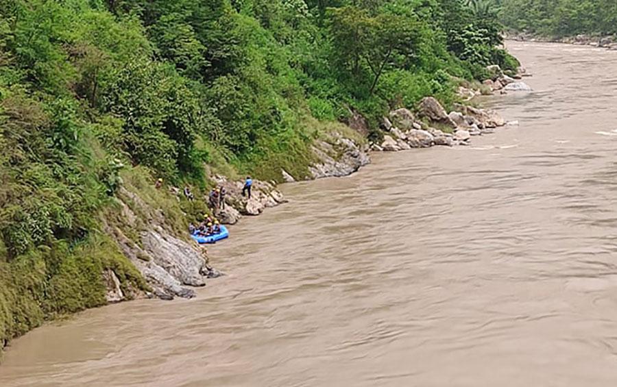 काठमाडौं आउँदै गर्दा त्रिशूलीमा बेपत्ता स्करपियोका धनी प्रहरी सम्पर्कमा
