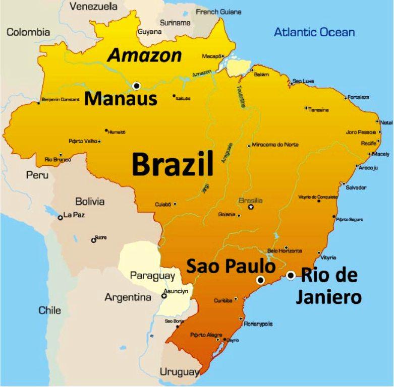 ब्राजिलमा एकैदिनमा ४८ हजार कोरोना संक्रमित