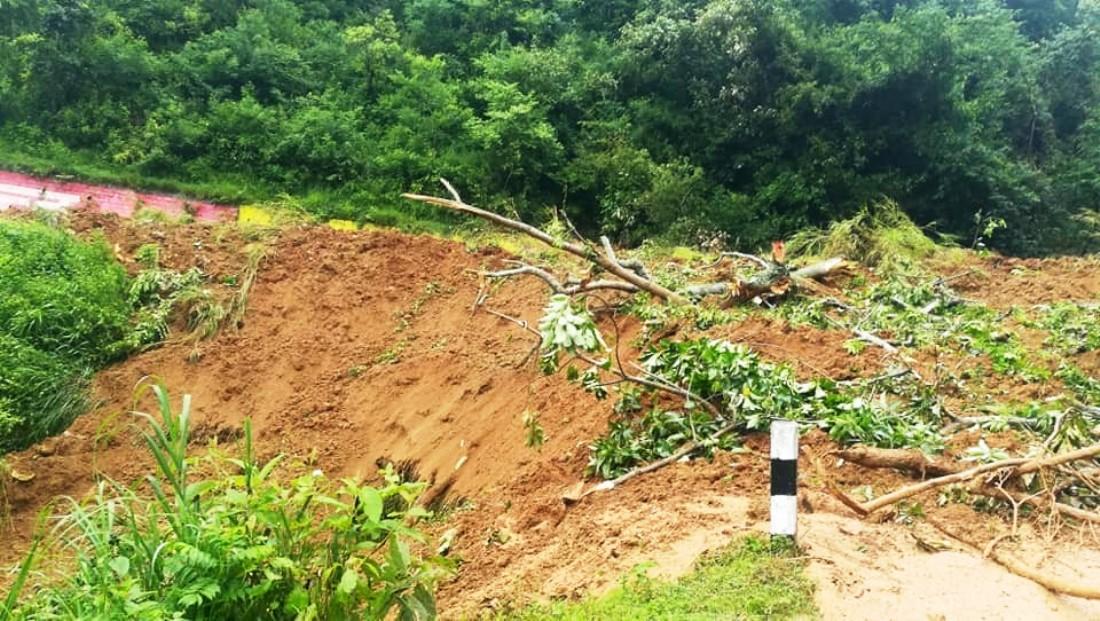 Landslide claims 2 in Rukum West