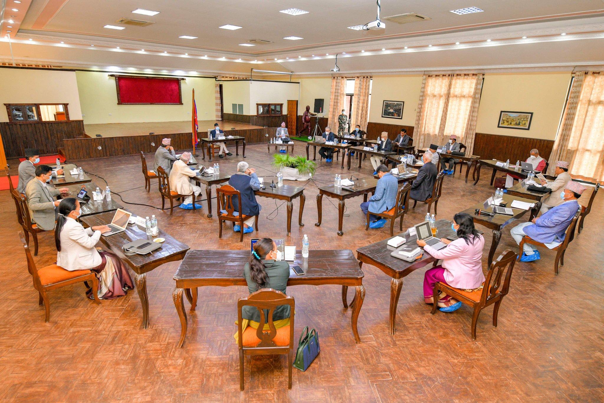 बालुवाटारमा मन्त्रिपरिषद् बैठक सुरु