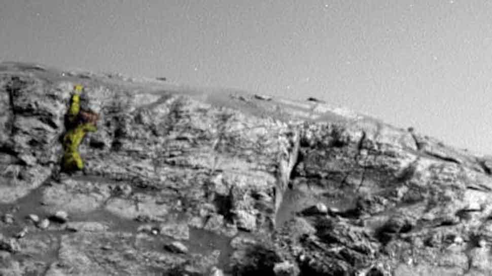 मंगल ग्रहको नयाँ तस्वीर जारी, एलियन देखिएको दाबी