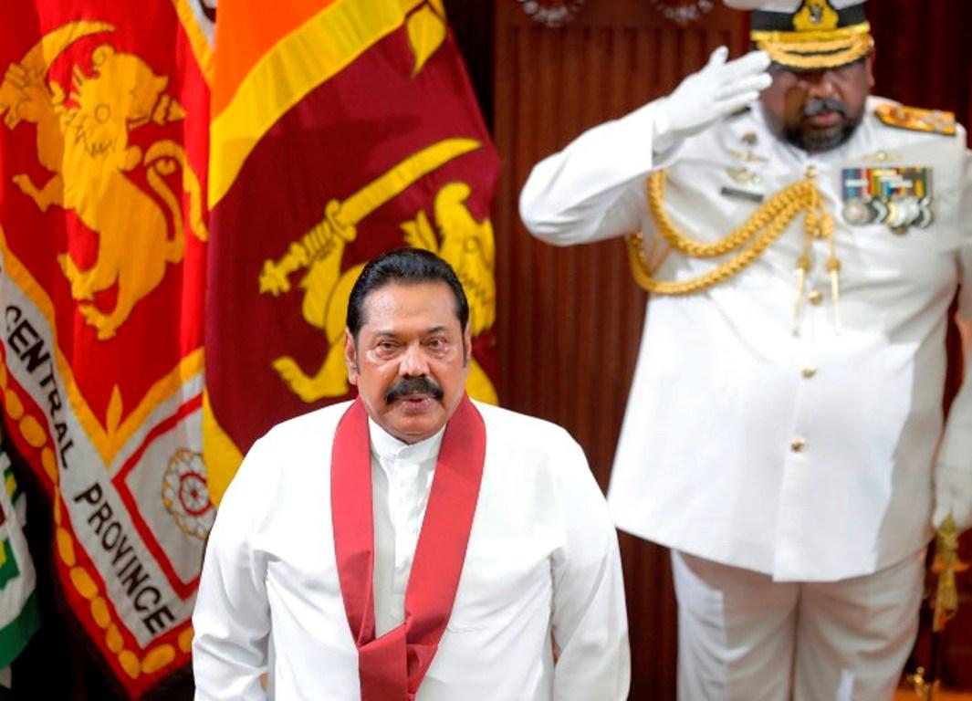 चौथो पटक श्रीलंकाको प्रधानमन्त्री बने महिन्दा राजापाक्ष